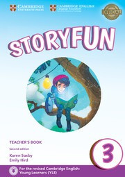 Storyfun for Starters, Movers and Flyers Second edition 3 Teacher's Book with Audio