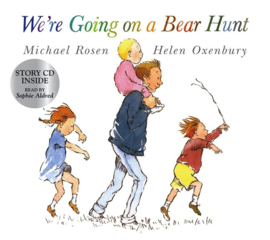 We're Going On A Bear Hunt Paperback With Cd (Michael Rosen, Helen Oxenbury)