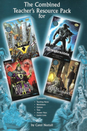 Comics: Library Pack (4 Books With Cds)