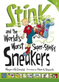 Stink And The World's Worst Super-stinky Sneakers (Megan McDonald, Peter H. Reynolds)