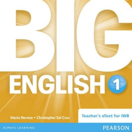 Big English Level 1 Digiboardsoftware (Teacher's eText)