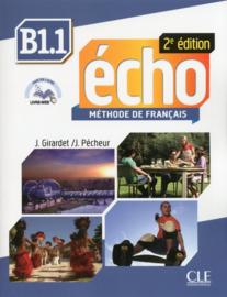 Echo - Niveau B1.1 - Livre de lélève + livre web - 2ème édition
