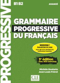 Grammaire progressive du français - Niveau avancé - 3ème édition - Livre + CD + Appli-web