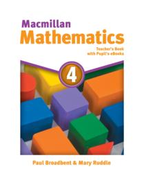 Macmillan Mathematics Level 4 Teacher's Book + eBook Pack