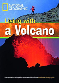 Footprint Reading Library 1300: Living With A Volcano with Multi-rom (x1)