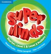 Super Minds Starter Posters (15) for Starter, Level 1 and 2 combined