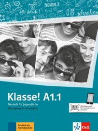 Klasse! A1.1 Oefenboek met Audio