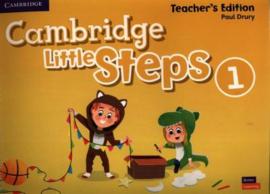 Cambridge Little Steps Level 1 Teacher's Edition