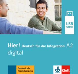 Hier! A2 digital Lehrwerk digital auf USB-Stick