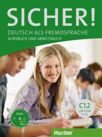 Sicher! C1/2 Studentenboek en Werkboek met CD-ROM bij het Werkboek Les 7-12