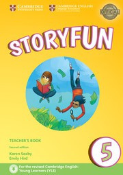 Storyfun for Starters, Movers and Flyers Second edition 5 Teacher's Book with Audio