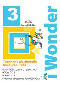 iWonder 3 - Teacher's Multimedia Resource Pack PAL (set of 4)