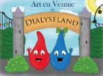 Art en Vennie in Dialyseland (Silvia van Vonderen)