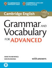 Grammar and Vocabulary for Advanced Book with answers with Audio