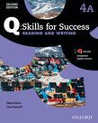 Q Skills For Success Level 4 Reading & Writing Split Student Book A With Iq Online