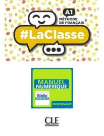 #La classe - Niveau A1 - Version numérique enseignant Manuel numérique élève