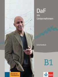 DaF im Unternehmen B1 Lerarenboek