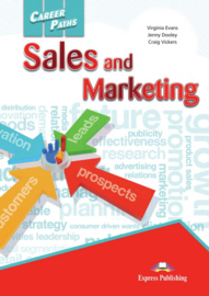 Career Paths Sales and Marketing Student's Pack