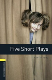 Oxford Bookworms Library Level 1 Five Short Plays Audio Pack