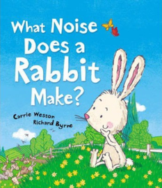 What Noise Does a Rabbit Make? (Carrie Weston & Richard Byrne) Paperback / softback