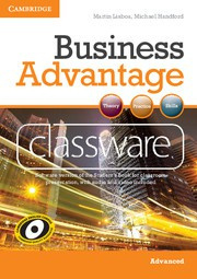 Business Advantage Advanced Presentation Plus DVD-ROM