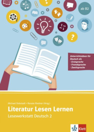 Literatur Lesen Lernen Buch met Kopiervorlagen en Online-Angebot