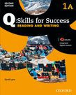 Q Skills For Success Level 1 Reading & Writing Split Student Book A With Iq Online