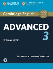 Cambridge English Advanced 3 Student's Book with answers and Audio
