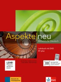 Aspekte neu B1 plus Lehrbuch met DVD