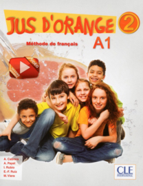 Jus dorange 2 - Niveau A1.2 - Livre + DVD