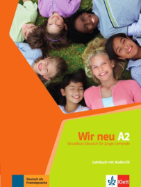Wir neu A2 Lehrbuch met Audio-CD