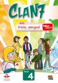 Clan 7 con ¡Hola, amigos! 4 - Libro del alumno