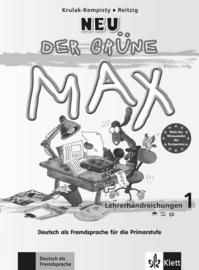 Der grüne Max NEU 1 Lerarenboek