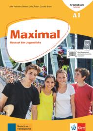 Maximal A1 Arbeitsbuch mit LMS-Code für das interaktive Kurs- und Übungsbuch