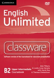English Unlimited UpperIntermediate Presentation Plus DVD-ROM