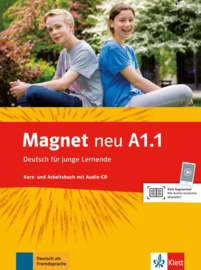 Magnet neu A1.1 Studentenboek en Werkboek met Audio-CD