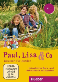 Paul, Lisa & Co A1/1 Interactief Studentenboek en Werkboek