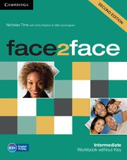 face2face Second edition Intermediate Workbook without Key