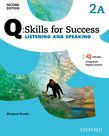 Q Skills For Success Level 2 Listening & Speaking Split Student Book A With Iq Online