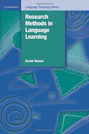 Research Methods in Language Learning Paperback