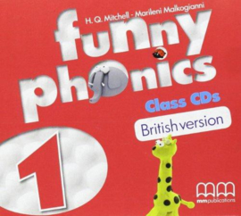 Funny Phonics 1 Class Cd (British Edition)
