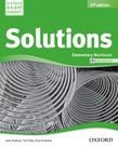 Solutions 2nd Edition Elementary Workbook And Audio Cd Pack