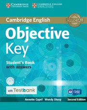 Objective Key Second edition Student's Book with answers with CD-ROM with Testbank