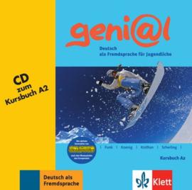 geni@l A2 Audio-CD bij het Studentenboek