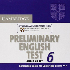 Cambridge Preliminary English Test 6 Audio CDs (2)