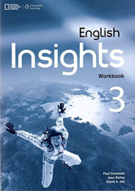 English Insights 3 Workbook + Audio Cd/dvd