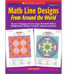 Math Line Designs From Around the World Grades 4-6