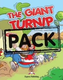 The Giant Turnip Set With Multi-rom Pal (audio Cd/dvd)