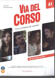 Via del Corso A1 SB + WB + Audio CD (x2) + DVD