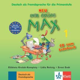 Der grüne Max NEU 1 Audio-CD bij het Lehrbuch